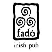This is the restaurant logo for Fadó Irish Pub