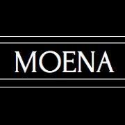 This is the restaurant logo for Moena Restaurant