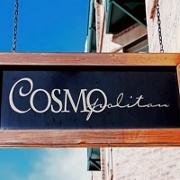 This is the restaurant logo for Cosmopolitan Restaurant