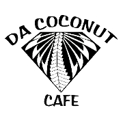 This is the restaurant logo for Da Coconut Cafe