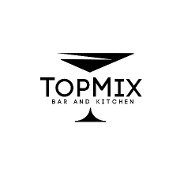 This is the restaurant logo for Top Mix Bar & Kitchen