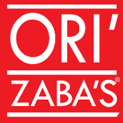 This is the restaurant logo for Ori'Zaba's Mexican Grill