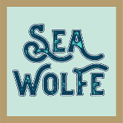 This is the restaurant logo for SeaWolfe Diner & Lounge