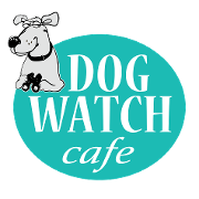 This is the restaurant logo for Dog Watch Cafe