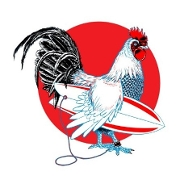This is the restaurant logo for SB Chicken Co