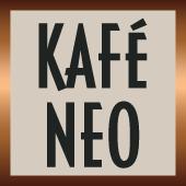 This is the restaurant logo for Kafé Neo Edmonds
