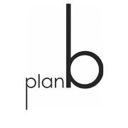This is the restaurant logo for Plan B Restaurant