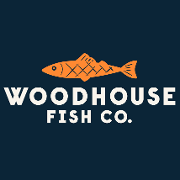 This is the restaurant logo for Woodhouse Fish Co