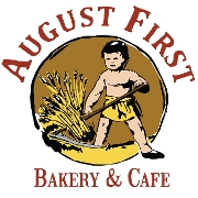 This is the restaurant logo for August First