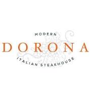 This is the restaurant logo for Dorona Italian Steakhouse