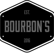 This is the restaurant logo for Bourbon's Kitchen & Cocktails
