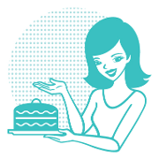This is the restaurant logo for SusieCakes