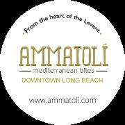 This is the restaurant logo for AMMATOLI