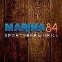 Restaurant logo for MARINA 84 SPORTS BAR & GRILL