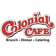 This is the restaurant logo for Colonial Cafe (STC Rt 64)