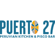 This is the restaurant logo for Puerto 27