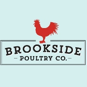 This is the restaurant logo for Brookside Poultry Company