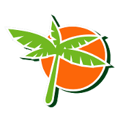 This is the restaurant logo for Tropical Juice Bar Passaic Street
