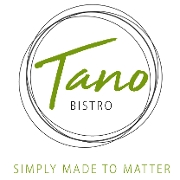 This is the restaurant logo for Tano Bistro