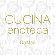This is the restaurant logo for CUCINA enoteca