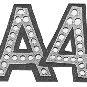 This is the restaurant logo for Area Four and Area Four Cafe