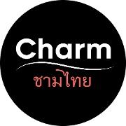 This is the restaurant logo for Charm Thai Cuisine