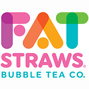 This is the restaurant logo for Fat Straws 1