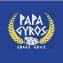 Restaurant logo for Papa Gyros