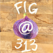 This is the restaurant logo for Fig @ 313