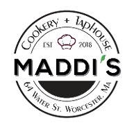 This is the restaurant logo for Maddi's Cookery and TapHouse