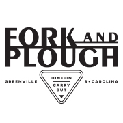 This is the restaurant logo for Fork and Plough