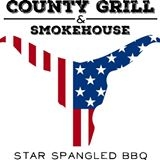 This is the restaurant logo for County Grill