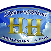 This is the restaurant logo for Happy Hour Heaven