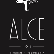 This is the restaurant logo for ALCE 101