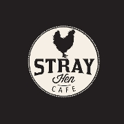 This is the restaurant logo for Stray Hen