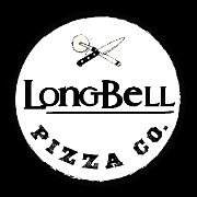 This is the restaurant logo for Long-Bell Pizza Co.
