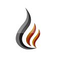 This is the restaurant logo for Volcanic Sushi & Sake