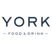 This is the restaurant logo for York Food & Drink