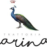 This is the restaurant logo for Trattoria Carina