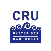 This is the restaurant logo for CRU Oyster Bar