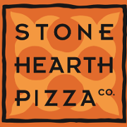 This is the restaurant logo for Stone Hearth Pizza