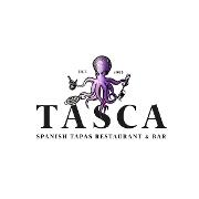 This is the restaurant logo for Tasca Restaurant