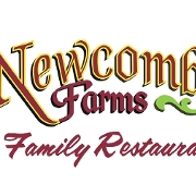 This is the restaurant logo for Newcomb Farms Restaurant