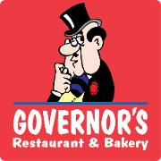 This is the restaurant logo for Governor's Restaurant & Bakery