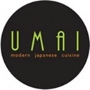 This is the restaurant logo for Umai