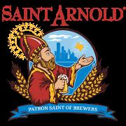 This is the restaurant logo for Saint Arnold Beer Garden & Restaurant
