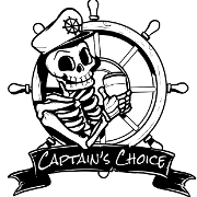 This is the restaurant logo for Captain's Choice