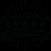 This is the restaurant logo for Spark Community Café