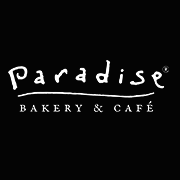 This is the restaurant logo for Paradise Bakery