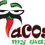 This is the restaurant logo for Tacos My Way